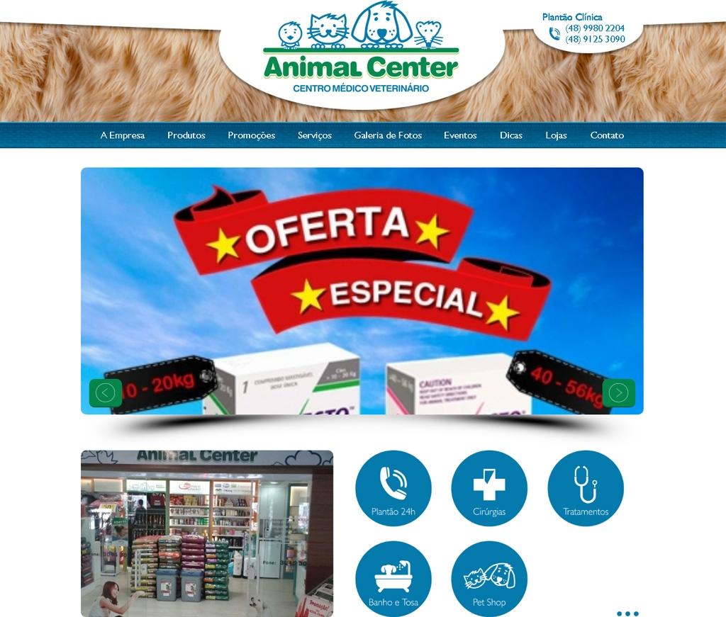 Animal Center - CANASSA COMERCIO DE PRODUTOS VETERINARIOS LTDA