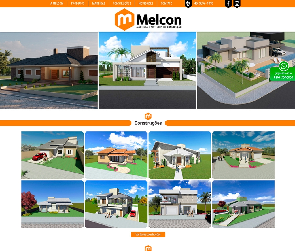 Melcon Madeiras Madeiras e Materiais de construção LTDA