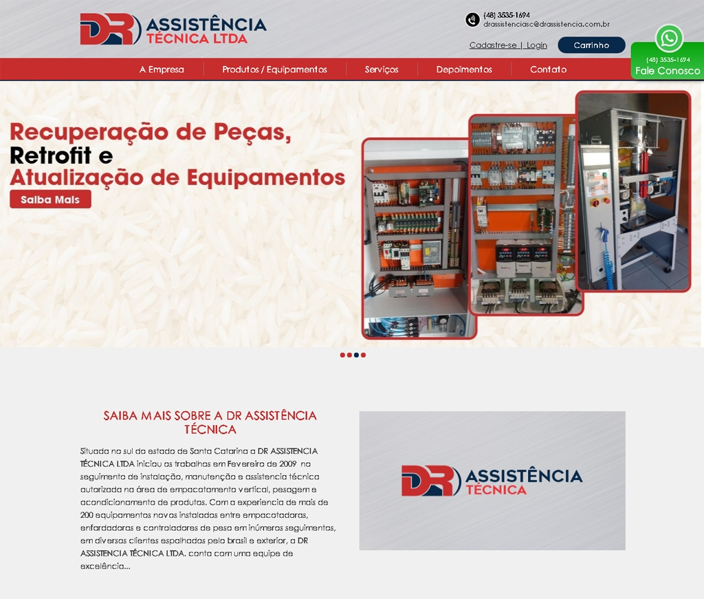 DR assistência Tecnica LTDA