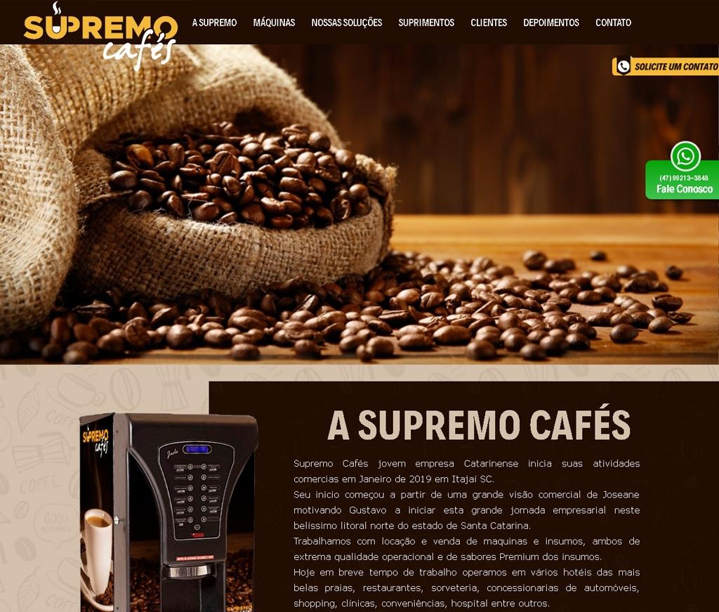 J.MARQUES REPRESENTACOES - Gustavo / Supremo Café