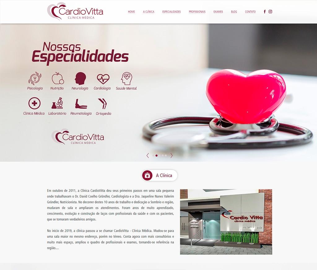 Cardiovitta Clínica de Cardiologia e Nutrição LTDA