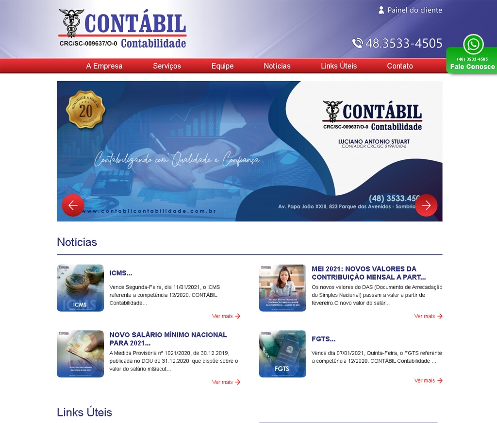 Luciano Antonio Stuart - Contabil Contabilidade